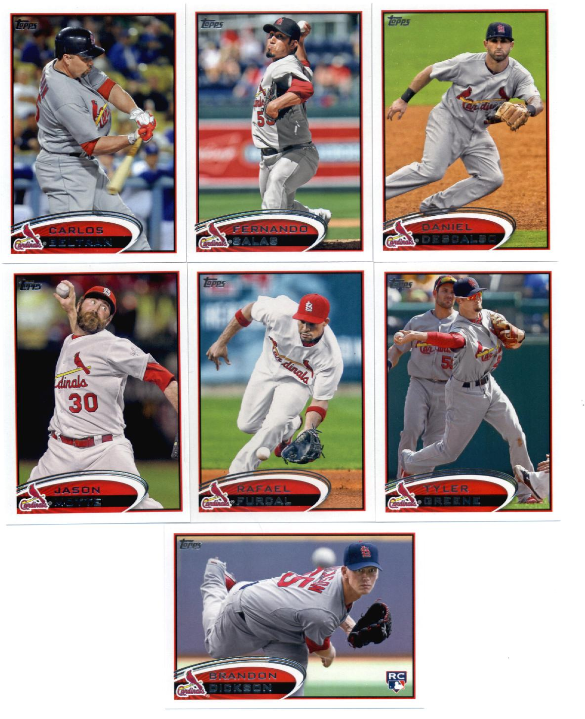 Topps Update 2012 Topps St. Louis Cardinals Update Series Team Set -14 Cards- Mujica,Freese,Furcal,Lynn,Westbrook,Beltran,Boggs,Fuentes at Sears.com