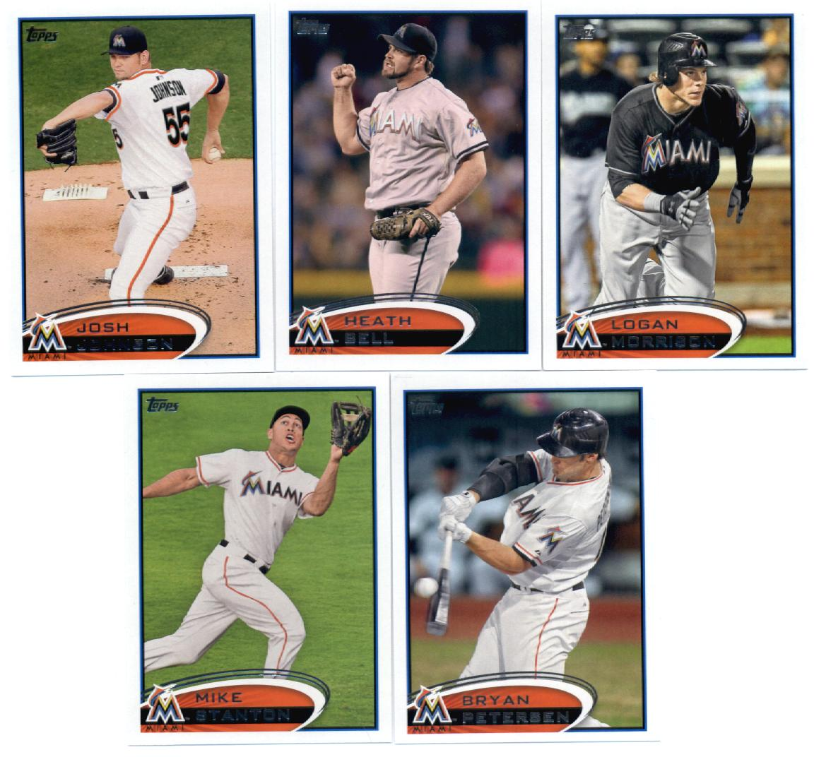 Topps Update 2012 Topps Miami Marlins Update Series Team Set -12 Cards- Solano,Webb,Gaudin,Dobbs,Turner,Cishek,Stanton,Lee,Choate at Sears.com
