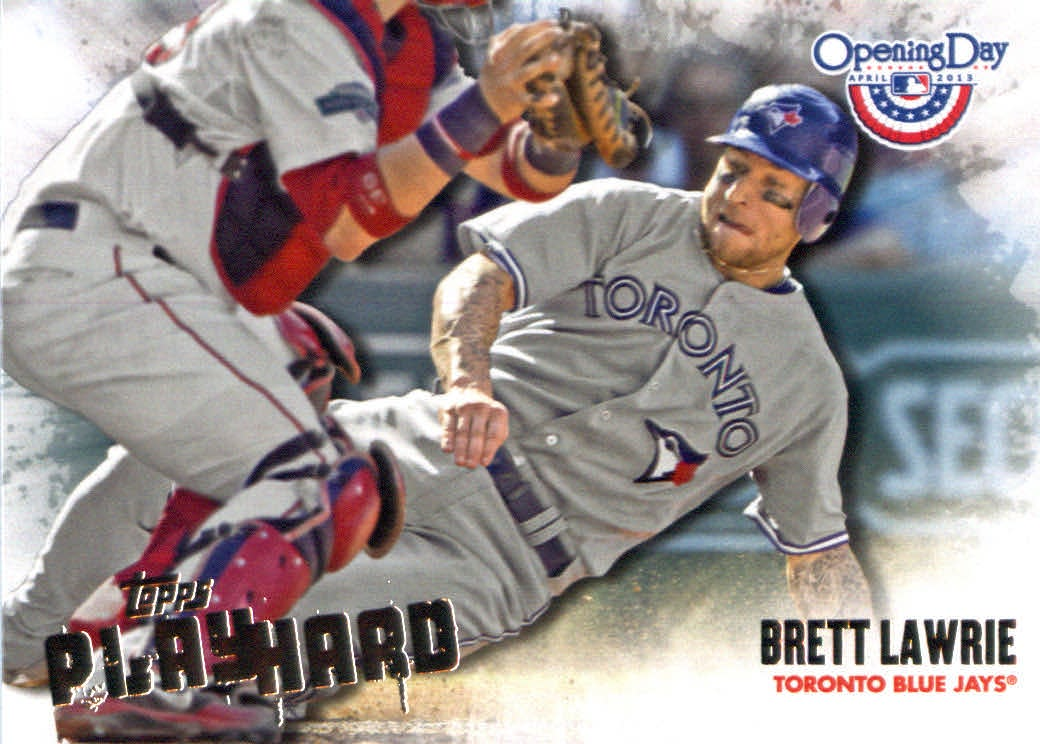 Topps Opening Day 2013 Topps Opening Day Play Hard Baseball Card #PH-5 Brett Lawrie at Sears.com