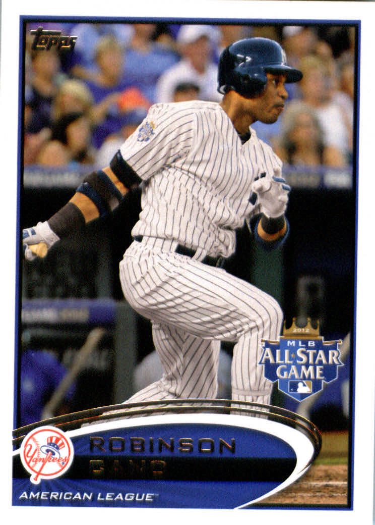 Topps Update 2012 Topps Update Series Baseball Card # US120 Robinson Cano All-Star New York Yankees at Sears.com