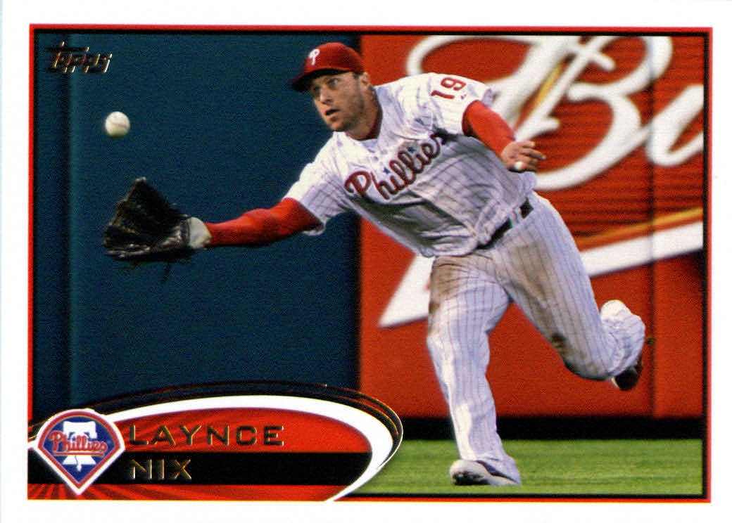Topps Update 2012 Topps Update Series Baseball Card # US130 Laynce Nix Philadelphia Phillies at Sears.com