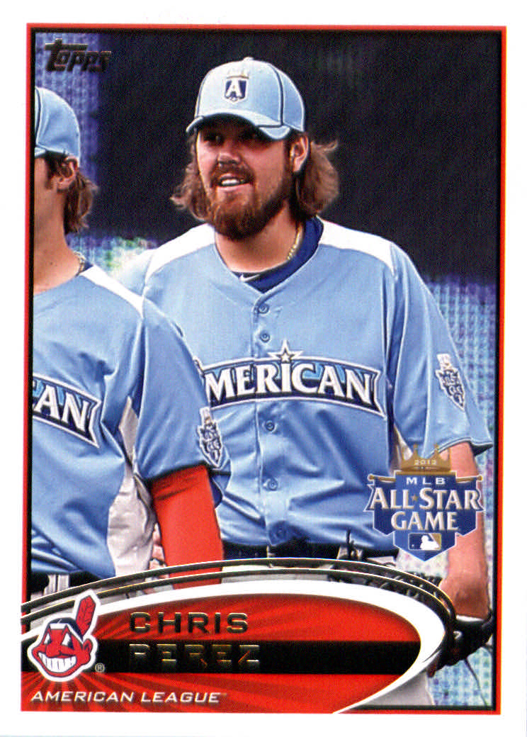 Topps Update 2012 Topps Update Series Baseball Card # US200 Chris Perez All-Star Cleveland Indians at Sears.com