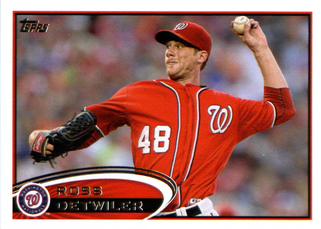 Topps Update 2012 Topps Update Series Baseball Card # US315 Ross Detwiler Washington Nationals at Sears.com