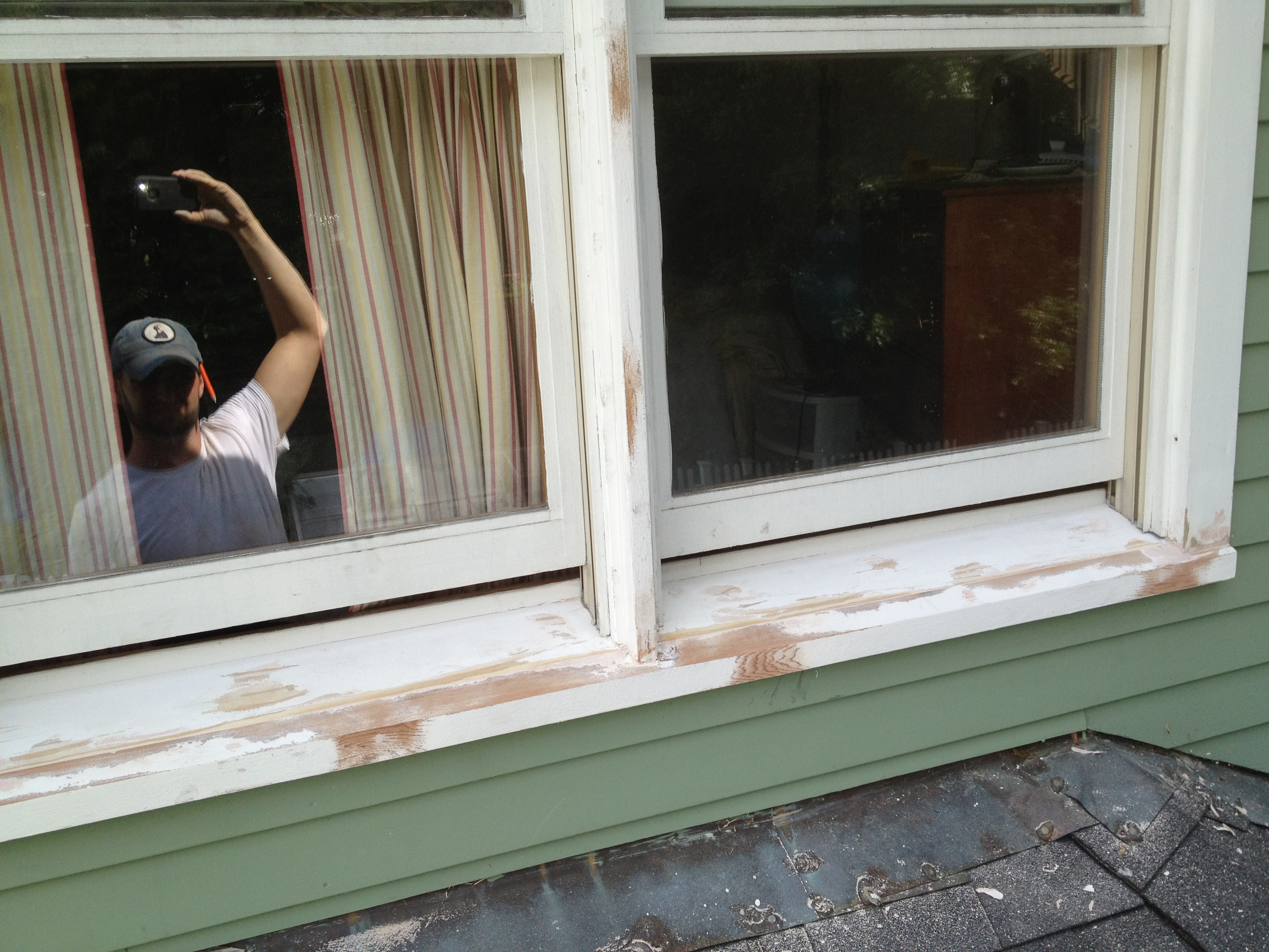 Replace indoor window sill 28 images simple way to for Window sill replacement