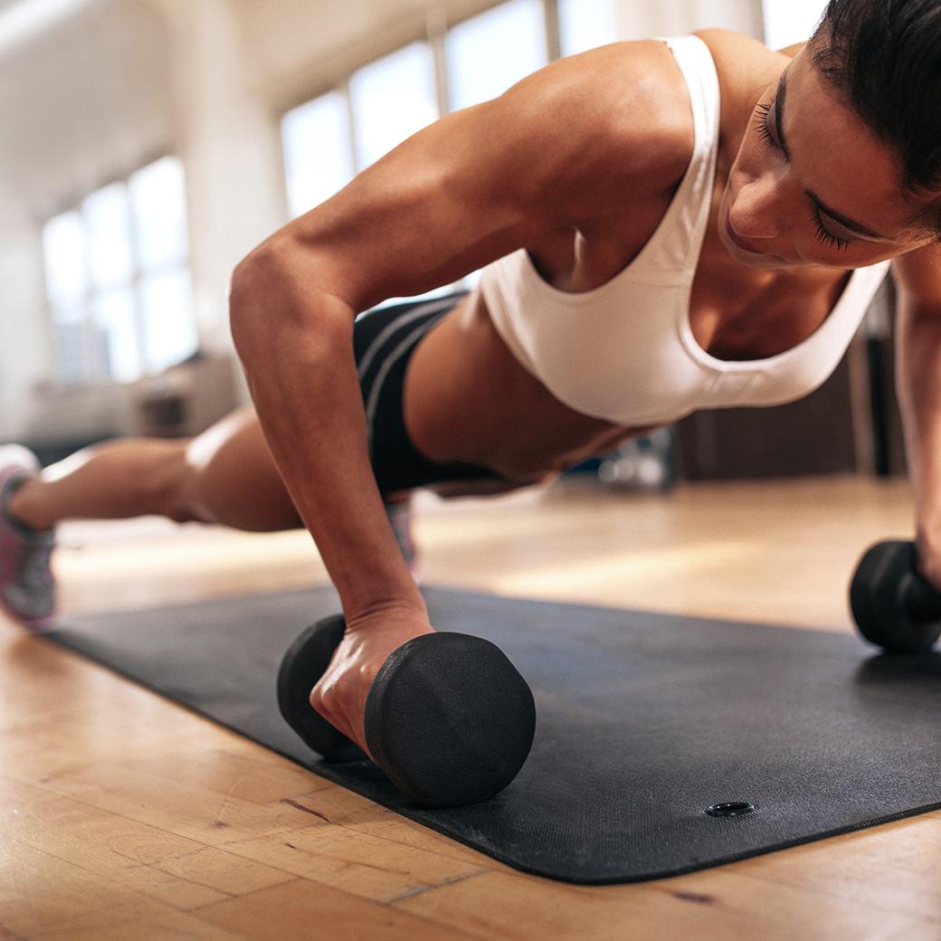 Физические нагрузки для похудения в 44