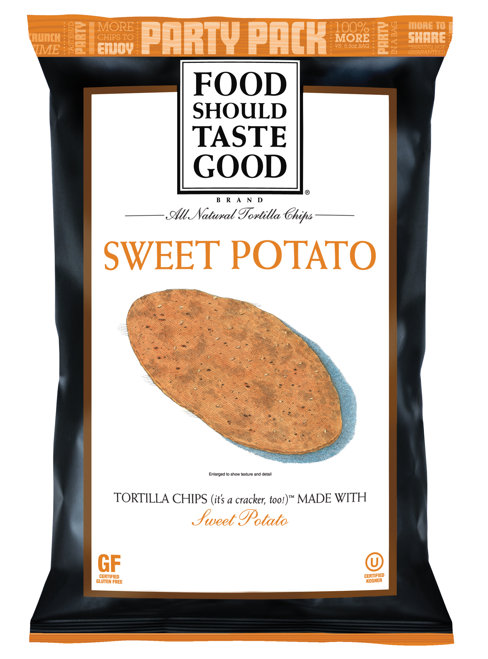 Food Should Taste Good All Natural Tortilla Chips Sweet Potato