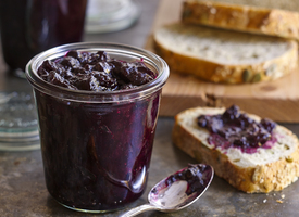 Cascadian Farm Blueberry-Orange Spiced Preserves