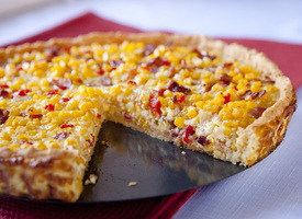 Cascadian Farm Crispy Bacon and Corn Pie