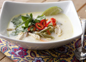 Cascadian Farm Thai Chicken and Vegetable Soup