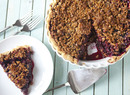 Cascadian Farm Blackberry Granola Crumb Pie