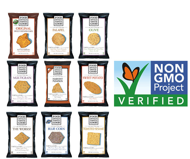 Food Should Taste Good Chips Non GMO Project Verified