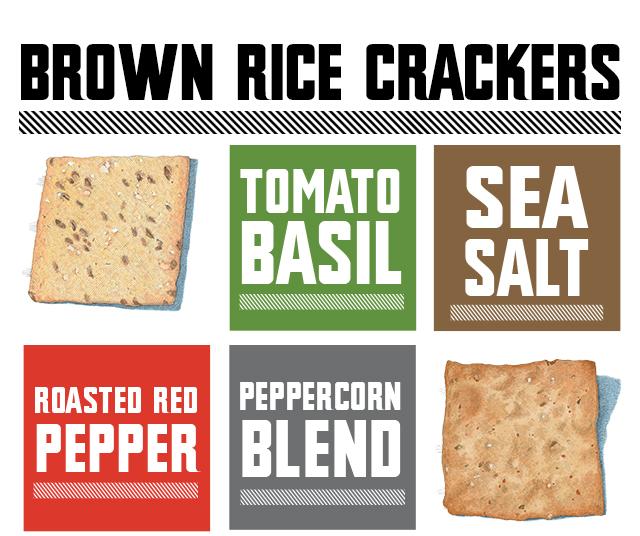 Food Should Taste Good Brown Rice Crackers Flavors