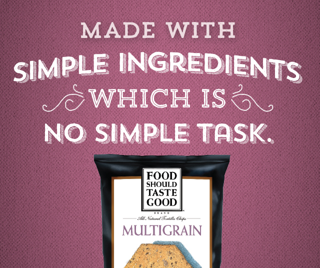 Made with Simple Ingredients Multigrain Tortilla Chips
