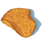 Barbeque Sweet Potato Kettle Cooked Chip Illustration