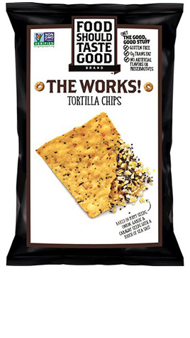 Food Should Taste Good The Works! Tortilla Chips