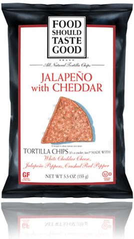 Jalapeño with Cheddar Tortilla Chips