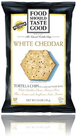Food Should Taste GoodWhite Cheddar Tortilla Chips