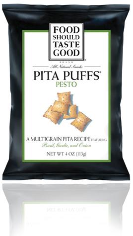 Pita Puffs Pesto