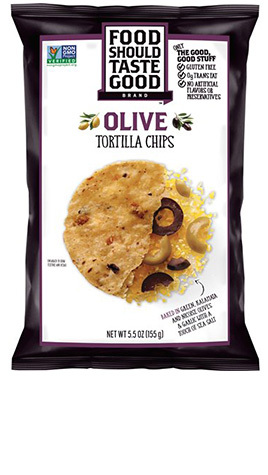 Olive Tortilla Chips