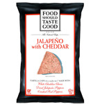 Food Should Taste Good Jalapeño with Cheddar
