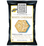 Food Should Taste Good White Cheddar Tortilla Chips