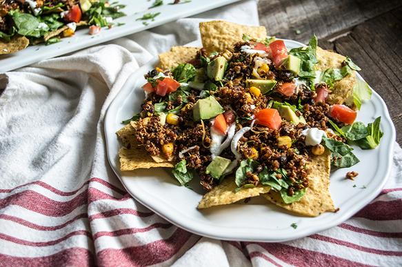 Vegetarian Quinoa and Black Bean Nachos | Recipes | Food Should Taste ...