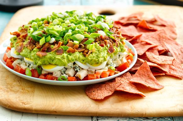Cobb Salad Dip Recipe | Food Should Taste Good