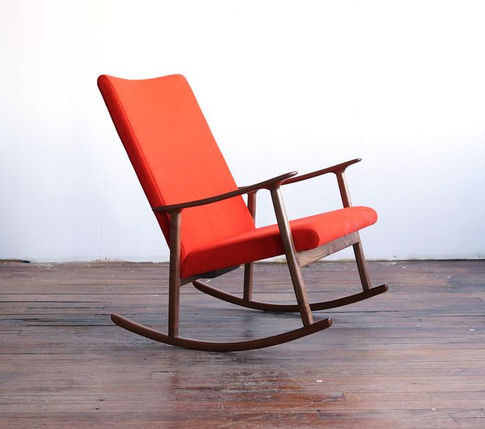 ... RC01 Modern Handmade Upholstered Rocking Chair ...