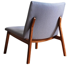 C07 modern handmade upholstered lounge chair