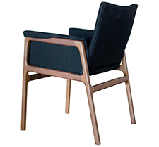 C08 modern handmade upholstered dining chair
