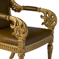 Jasper Furniture VAUX GILT ARMCHAIR