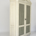Jasper Furniture ARCHER CABINET WITH PEDIMENT