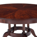 Jasper Furniture Bedford Dining Table with extendable leaf insert