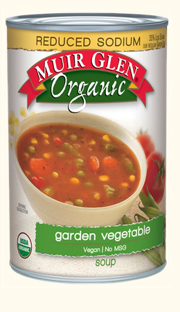 Reduced Sodium Garden Vegetable Soup