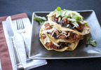 Muir Glen Chorizo Enchilada Stack Recipe