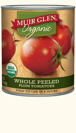 Whole Peeled Plum Tomatoes