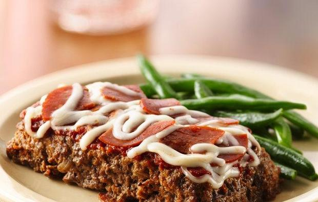 Muir Glen Healthified Mini Pizza Meat Loaves