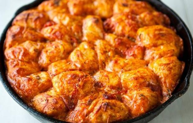 Muir Glen Skillet Pizza Monkey Bread