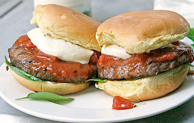 Muir Glen Margherita Pizza Burger