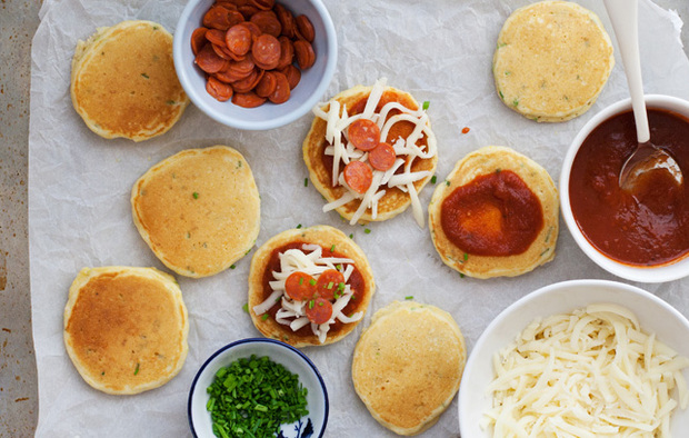 Muir Glen Mini Pizza Pancakes