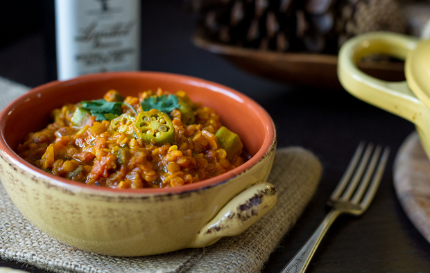 Lentil Okra Curry