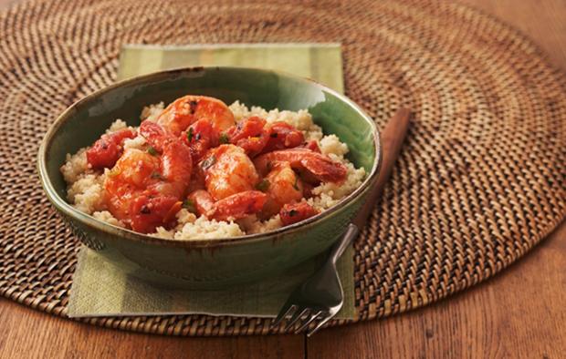 Muir Glen Fire Roasted Tomato-Shrimp Veracruz