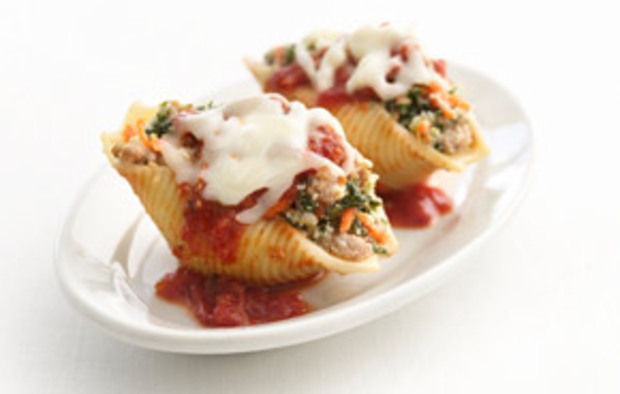 Muir Glen Healthified Sausage-Stuffed Shells