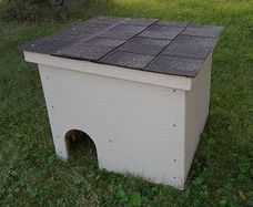 Feralvilla cat winter shelter