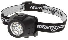 Use a hands-free headlamp at night