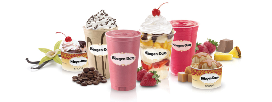 Haagen Dazs In Store Treats