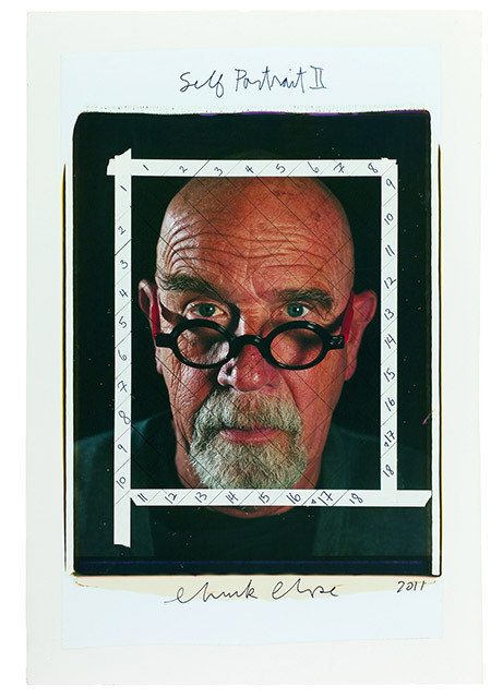 Chuck Close - Photo Maquettes; ZIP Magazine`s interview with curator Kristy Bryce