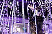 Swarovski Elements teams up with Harrods in London.