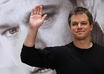 Matt Damon presents his current film Green Zone, directed by Paul Greengrass.