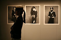 Karl Lagerfeld´s exhibition of `The Little Black Jacket`.